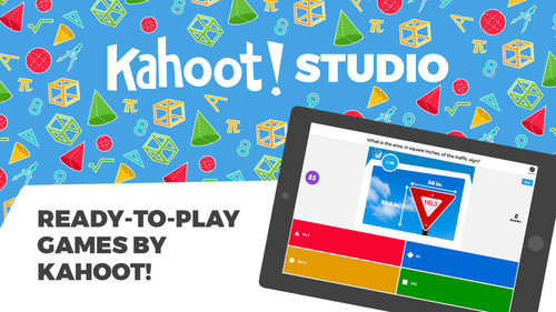 Kahoot! Studio offers ready-to-play original learning games spanning education and entertainment
