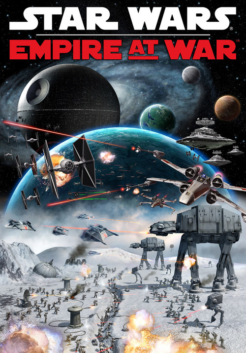 The original box cover for Star Wars: Empire at War originally launched Feb. 16, 2006.