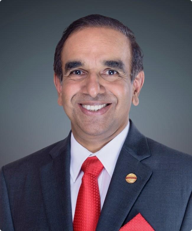 Balraj Arunasalam, Toastmasters 2017-2018 International President