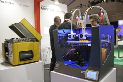 Top companies users of 3D printing confirm their participation in IN(3D)USTRY (PRNewsfoto/Fira de Barcelona)
