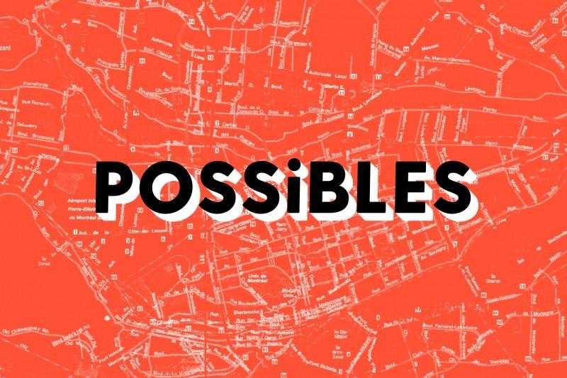 Logo: POSSIBLES 09 (CNW Group/Société des célébrations du 375e anniversaire de Montréal)