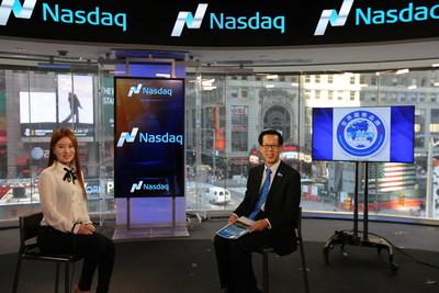NASDAQ TELEVISION STUDIO in times square