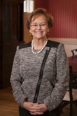 Dickinson College President, Margee Ensign (PRNewsfoto/Dickinson College)