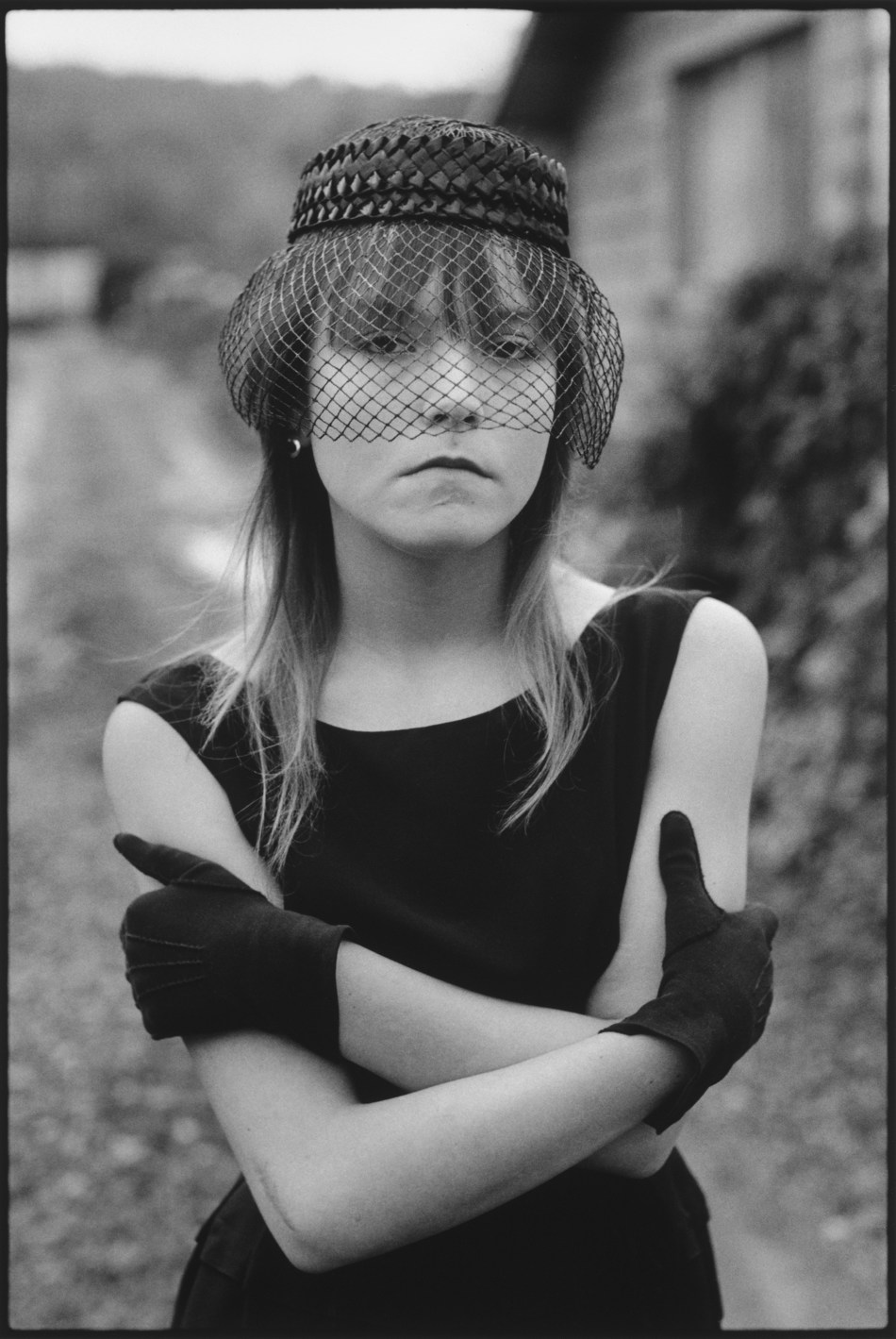 """Groundbreaking exhibition of the thirty-year photo documentary of """"Tiny"""", the subject of acclaimed street photojournalist Mary Ellen Mark, ushers in the opening of Museum of Street Culture at Encore Park in Dallas, TX on October 1. Photo Credit Copyright © Mary Ellen Mark."""