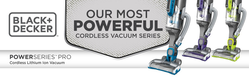 POWERSERIES™ Pro Cordless Vacuums can be used as a cordless upright vacuum or as a detachable canister with an integrated extension wand for accessing hard-to-reach areas