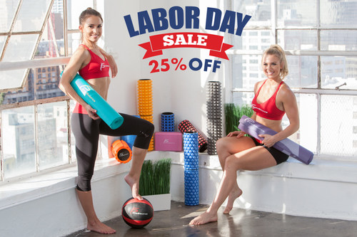 ProSourceFit.com is celebrating Labor Day with a huge 25% off sale. Every product is discounted from August 31 to September 5, 2017. Workout gear and equipment includes items for weight lifting, yoga, Pilates, foam rolling, muscle recovery, strength training, weight loss, and more!