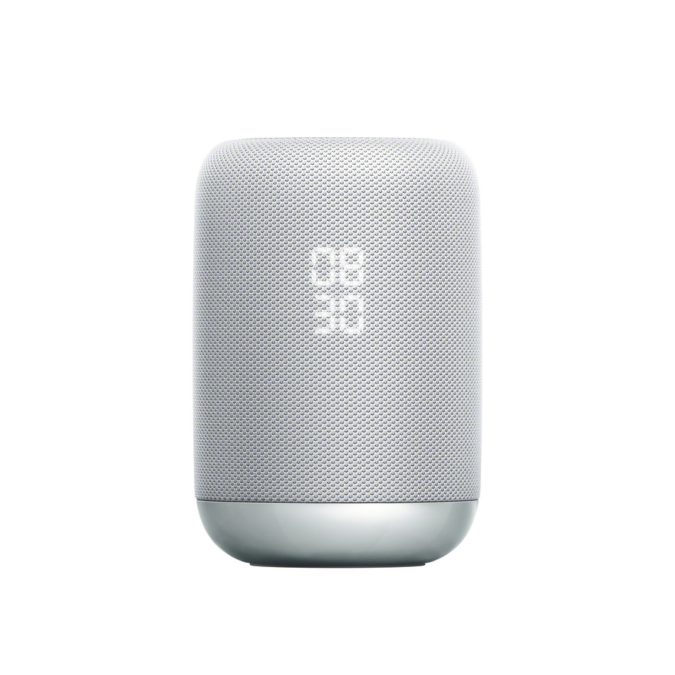 The LF-S50G new wireless speaker combines Sony's high quality sound with the smart features of the Google Assistant built-in.