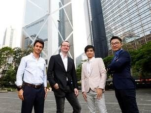 (From left to right) The Monaco founding team: Rafael Melo, Chief Financial Officer; Kris Marszalek, Chief Executive Officer; Gary Or, Chief Technology Officer, Bobby Bao, Managing Director