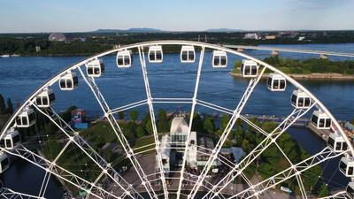 La Grande roue de Montréal (Groupe CNW/La Grande roue de Montréal)