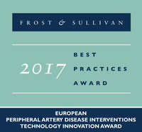 PQ Bypass is recognized with Frost & Sullivan's 2017 European PAD Interventions Technology Innovation Award.