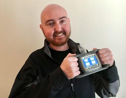 Matt with his new Spiro PD 2.0
