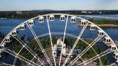 La Grande roue de Montréal (CNW Group/La Grande roue de Montréal)