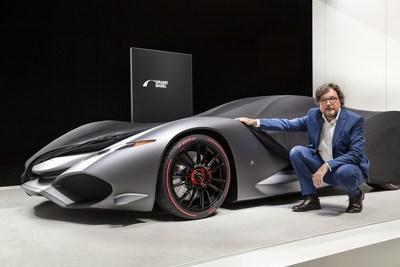 Grand Basel: Andrea Zagato announced a tribute to the legendary brand IsoRivolta: The Zagato IsoRivolta Vision Gran Turismo concept. Photo credit: Grand Basel / diephotodesigner.de (PRNewsfoto/Grand Basel)