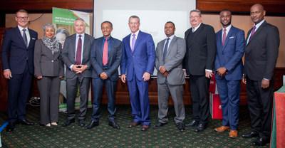 Kismet Abdurahman (Sabre), Dino Gelmetti (Sabre), Esayas Weldemariam (Ethiopian Airlines), Greg Gilchrist (Sabre), Laeke Tadesse (Ethiopian Airlines), Steve Duley (Sabre), Gad Wavomba (Sabre) and Anteneh Feleke (Sabre)