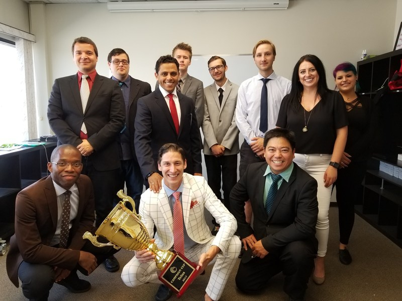 Leading Edmonton marketing firm Regera wins sales recognition for second quarter excellence.