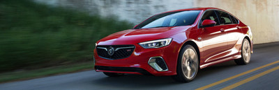 The 2018 Buick Regal GS is the third model to join the nameplate for the upcoming model year, standing alongside the Regal Sportback and Regal TourX, and we cannot wait for any of them!