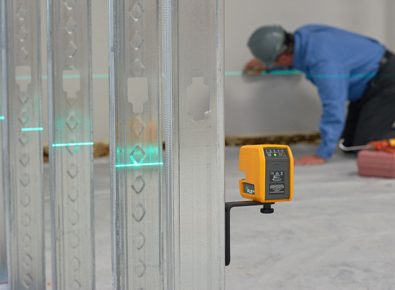 The laser levels feature a fast settling, self-leveling gimbal that quickly delivers accurate reference points, significantly reducing layout time for walls, fixtures, pipes, conduit, door and window frames, and more.