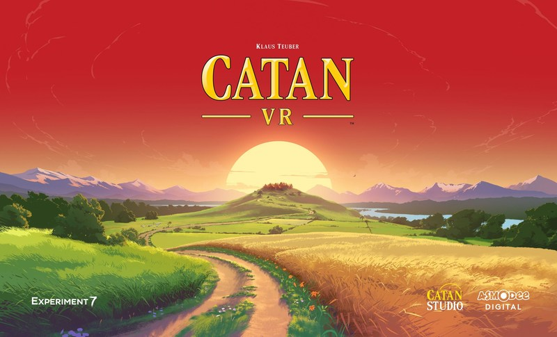 Catan GmbH, Catan Studio, Asmodee Digital and virtual reality game developer Experiment 7 announced a partnership to bring the acclaimed Catan® board game to VR. Catan VR™ is an immersive take on Klaus Teuber's landmark title that revolutionized modern board gaming. This amazingly engaging game is set to release on Oculus Rift and Samsung Gear VR for Holiday 2017.