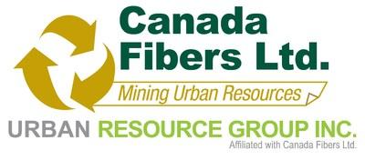 Canada Fibers - Urban Resource Group logo (CNW Group/Canada Fibers Ltd.)