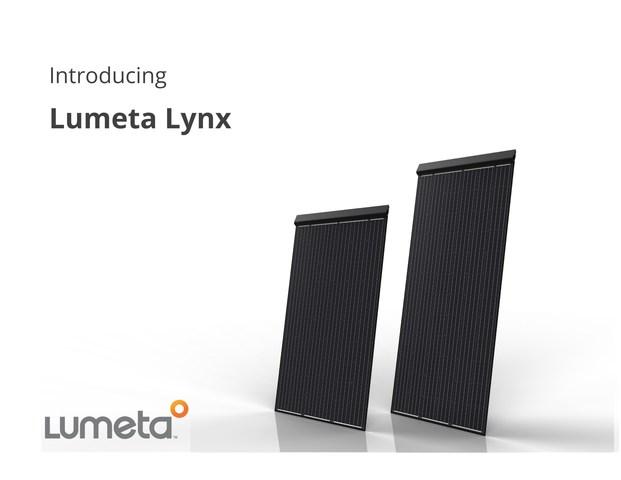 (PRNewsfoto/Lumeta Solar LLC)