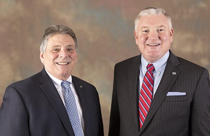 C. Frank Scott III, Chairman of the Board of Bay Banks of Virginia, Inc. and Randal R. Greene, Chief Executive Officer of Bay Banks of Virginia, Inc. and Virginia Commonwealth Bank.