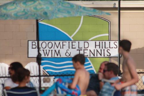 Bloomfield Hills Swim & Tennis Club holds Hurricane Harvey Relief Fundraiser.