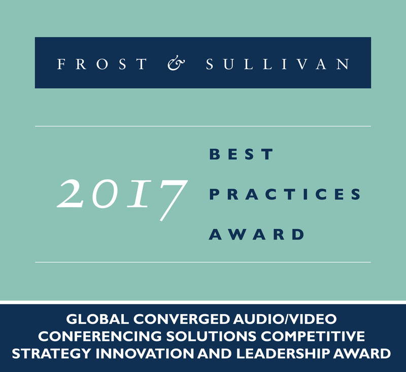 2017 Global Converged Audio/Video Conferencing Solutions& Competitive Strategy Innovation and Leadership Award