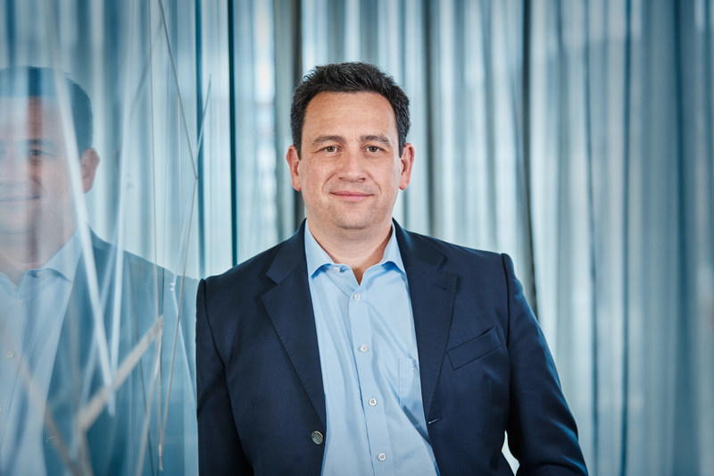 Jörg Lamparter, CEO of the moovel Group and Head of Mobility Services within Daimler Financial Services