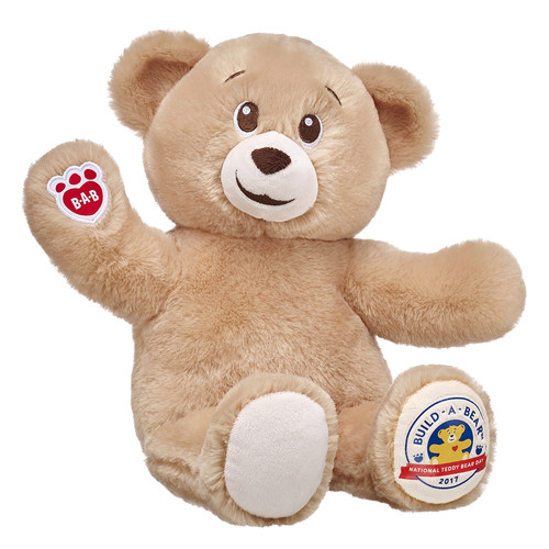 Build-A-Bear Workshop is inviting teddy bear fans of all ages to celebrate National Teddy Bear Day in stores on Sept. 8 and 9. During the two-day celebration, guests can make their own limited-edition National Teddy Bear Day Bear for $5.50 plus tax.