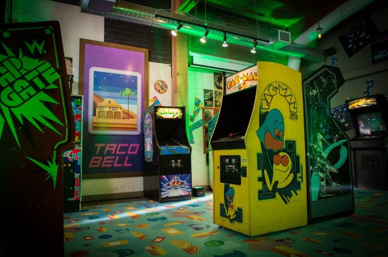 To celebrate this powerful partnership, Taco Bell and Xbox are bringing the past and future of gaming to life this weekend at the Taco Bell Arcade in Seattle, which includes both nostalgic arcade games of the past as well as the new Xbox One X experience.