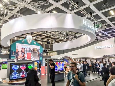 Hisense shows exciting highlights at IFA 2017