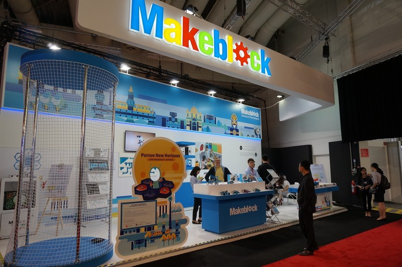 Makeblock is showcasing its latest products to IFA at booth 201b in Hall 26