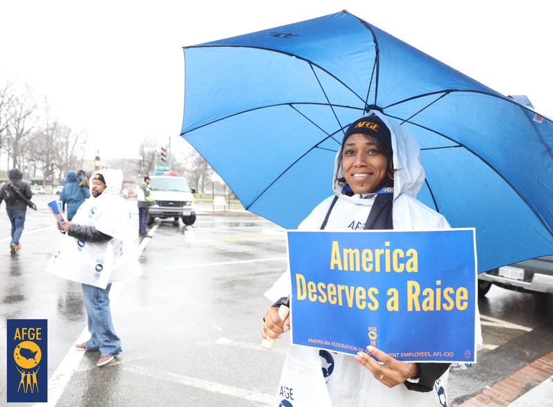 AFGE is calling on the Administration to offer pay parity to federal employees