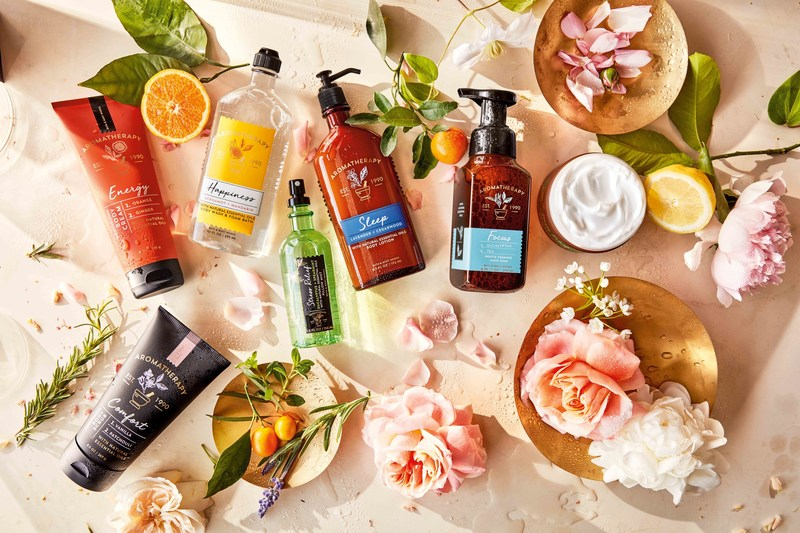 With more than 120 products, Bath & Body Works Aromatherapy Collection launches September 1, nationwide.