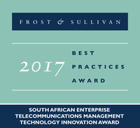2017 South African Enterprise Telecommunications Management Technology Innovation Award