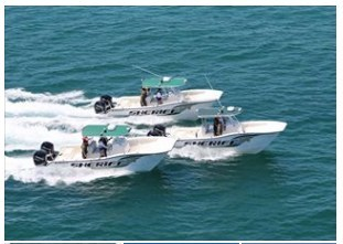 Ameracats offshore fishing catamaran boats are ideal for any type of offshore sport fishing. All of their offshore fishing catamarans are custom built to the buyer's specifications and the buyer always deals with an owner of the company.