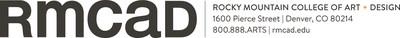 RMCAD Logo (PRNewsfoto/Rocky Mountain College of Art +)