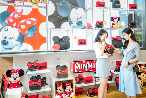 New Disney Store in Shanghai provides locally designed exclusive products for consumers