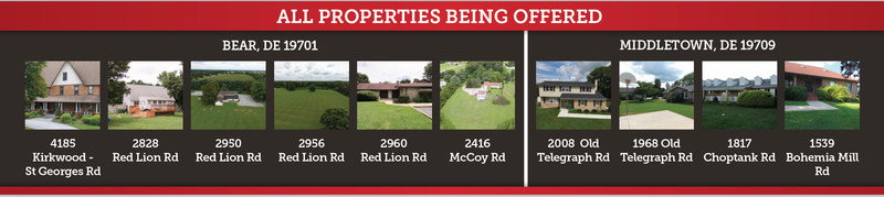 All Properties Being Offered
