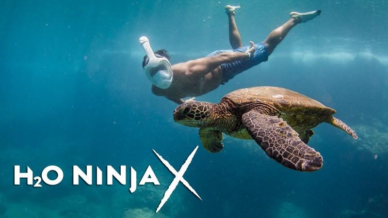 H2O Ninja Unveils Advanced H2O Ninja X Full Face Snorkeling Mask | www.h2oninjamask.com