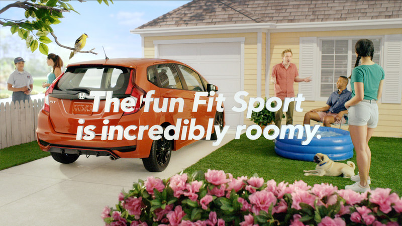 Fit for Fun: New Marketing Campaign Highlights High Tech and Sporty Character of 2018 Honda Fit