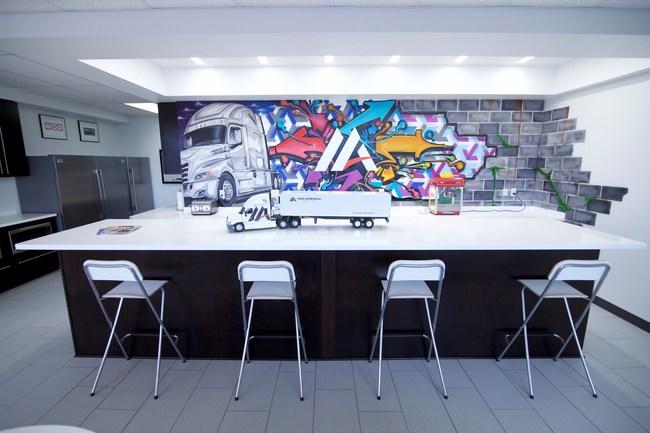 Logistics Lounge in Mid America Corporate Headquarters