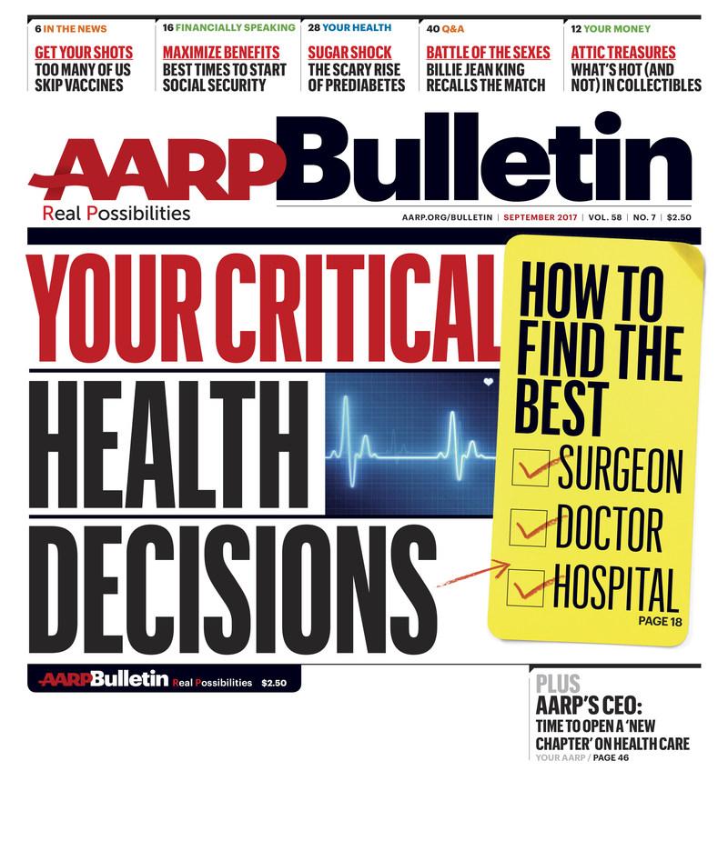 AARP Bulletin September 2017 Issue