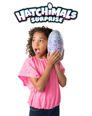 New Extension of the Holiday Must-Have Toy Holds a Very Special Suprise Debuting on Hatchimals Day, Friday, Oct. 6. (CNW Group/Spin Master)