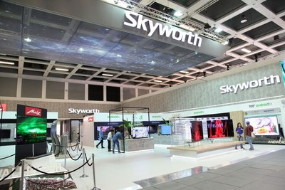 Skyworth's booth at IFA 2017