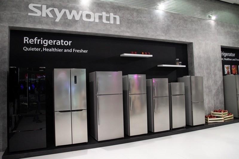 Skyworth showcases its intelligent refrigerator series at IFA 2017