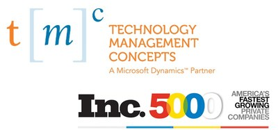 Microsoft Dynamics 365, GP, NAV, SL & Azure hosting provider TMC continues impressive growth streak from 2016 into 2017, earning themselves a spot on the Inc 5000 list for the 2nd year in a row.