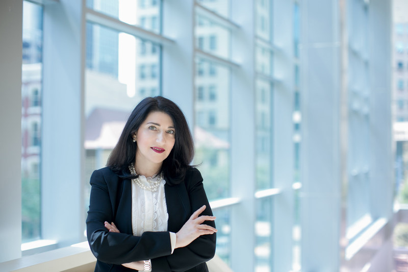 Ms. Ellen Freeman, immigration attorney and partner-in-charge of Porter Wright Morris & Arthur LLP's new office in Pittsburgh. Photo by: Joey Kennedy, Pittsburgh, Pa.