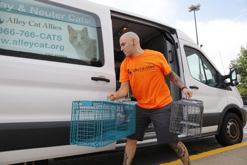 Alley Cat Allies Deploys Resources to Gulf Coast for Hurricane Recovery