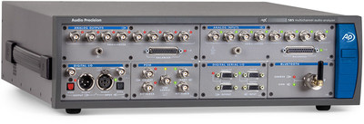 Audio Precision's APx585 audio analyzer supports eight analog channels (in and out) as well as digital I/O such as PDM, Digital Serial, and Bluetooth.
